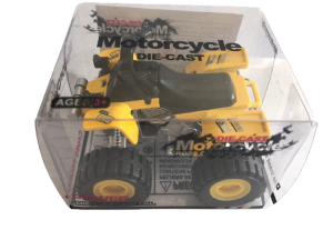 Die-cast atv - yellow
