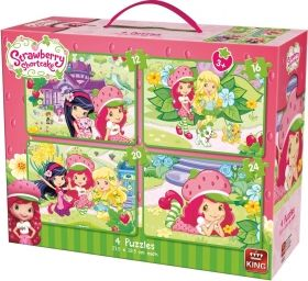 Disney puzzle - 4 în 1: Strawberry Shortcake