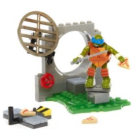 Teenage Mutant Ninja Turtles, Pizza Fury, Mega Bloks, 51 pcs