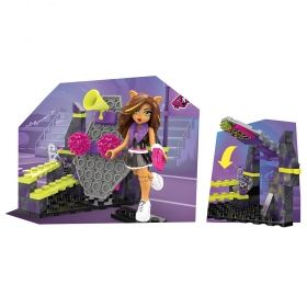 Конструктор Monster High, Study Howl DJ, Mega Construx 84 части