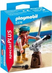 Playmobil Pirat with cannon