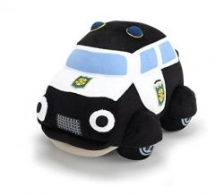 Plush police car Paulie, Heroes of the city, 30 cm