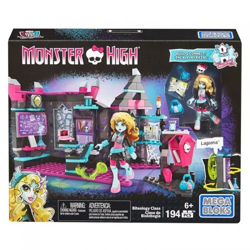 Конструктор Mega Bloks, Monster High, Biteology Class 194 части