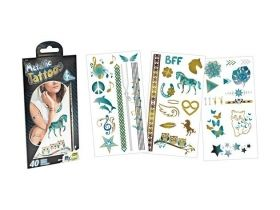 Metallic tattoos, Revell, 45 pcs.