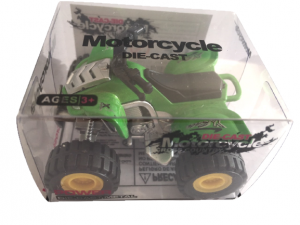 Die-cast atv - green
