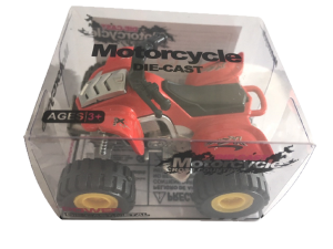 Die-cast atv - red