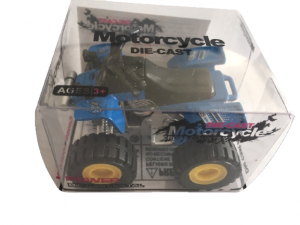 Die-cast atv - blue
