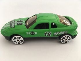 driving die-cast-green-sport 18