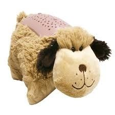 dream lites-pillow pets mini_snuggly puppy