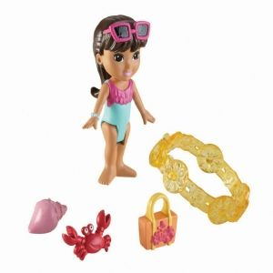Dora and friends-magic adventures charms-Beach adventure Dora-Fisher Price