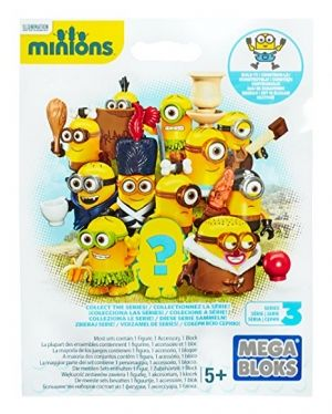 Mega Bloks Despicable Me figurina series 3