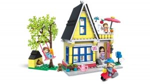 "Building set ""Home Sweet Hangout"", Mega Construx World, 254 pcs"