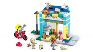 "Building set ""Pet Care Shop"", Mega Construx World, 182 pcs"