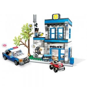 "Building set ""Police Station"", Mega Construx World, 394 pcs"