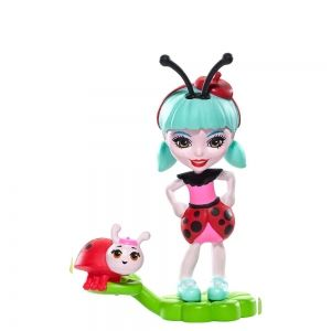 Mattel-Enchantimals-Petal Park-Ladelia Lady Bug