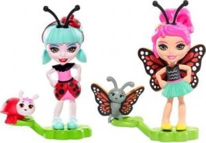 Enchantimals-Mattel-Baxi Betterfly&Ladelia Lady Bug