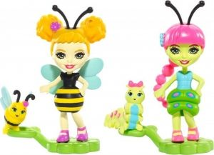 Enchantimals-Mattel-Cay Caterpilla&Beetrice Bee