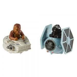 Star Wars-Hot Wheels-Chewbacca vs. Fighter Pilot