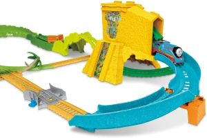 Игрален комплект Thomas & Friends, Турбо Джунгла-3