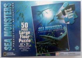 Puzzle Sea Monsters 50 pcx