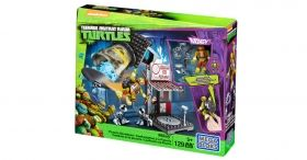 Teenage Mutant Ninja Turtles, Pizzeria Showdown, Mega Bloks, 129 pcs