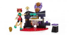 Monster High, Study Howl DJ, Mega Construx 84 pcs