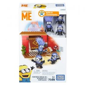 Mega Bloks® Despicable Me™ Fortress Break-In 70 pcs