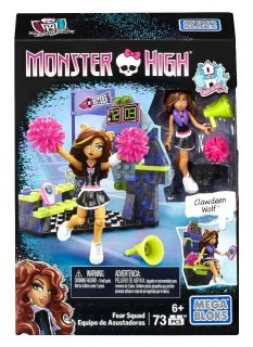 Monster High, Fear Squad, Mega Bloks 73 pcs
