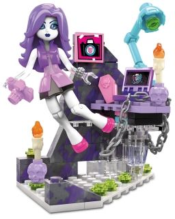 Конструктор Monster High, Ghostly Gossip Column, Mega Bloks, 84 части