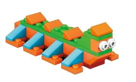 Box of blocks, Mega Construx, 130 pcs