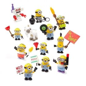 Mega Bloks Despicable Me figurina series 11