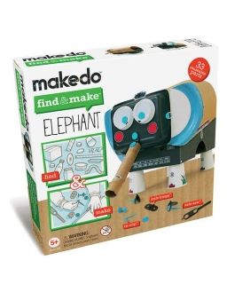 Makedo FInd&make, Elephant