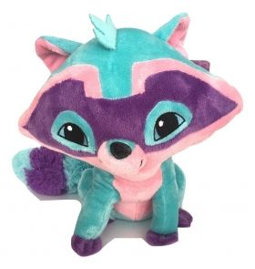 Animal Jam, Plush, Raccoon, 28 cm