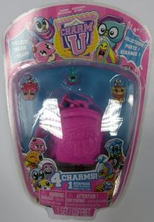 Charm U, 4 charms + mini backpack